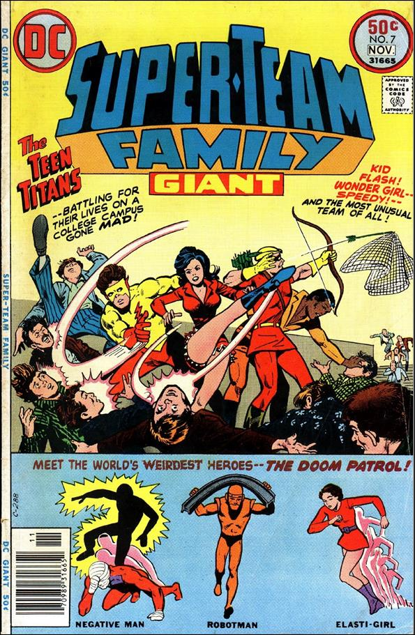Super-Team Family 7-A by DC