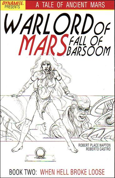 Warlord of Mars: Fall of Barsoom 2-C by Dynamite Entertainment