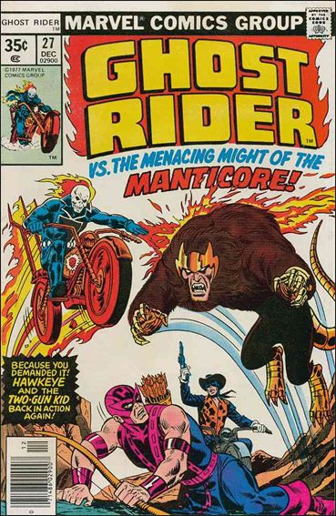 Ghost Rider (1973) 27-A by Marvel