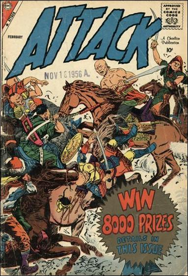 Attack (1958) 56-A by Charlton