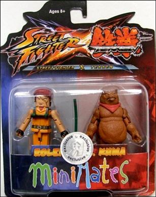 Street Fighter X Tekken Minimates (Exclusives) Rolento vs Kuma
