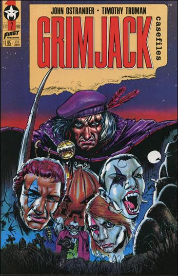 Grimjack Casefiles 2-A by First
