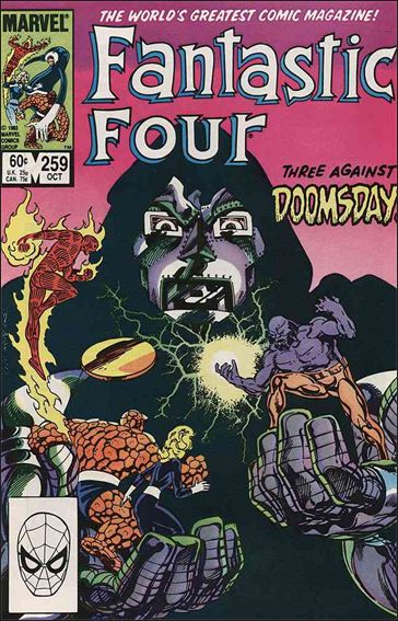Fantastic Four (1961) 259-A by Marvel