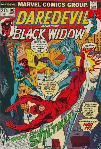 Daredevil (1964) 102-A by Marvel