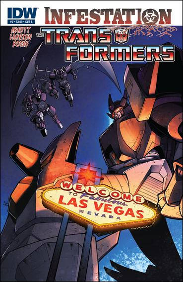 Transformers: Infestation 2-A by IDW