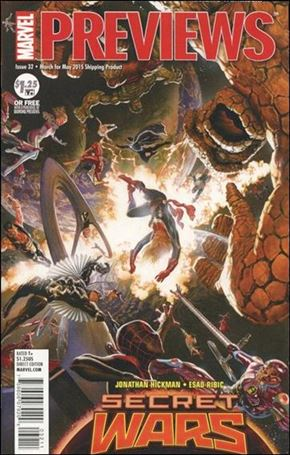 Marvel Previews (2012) 32-A