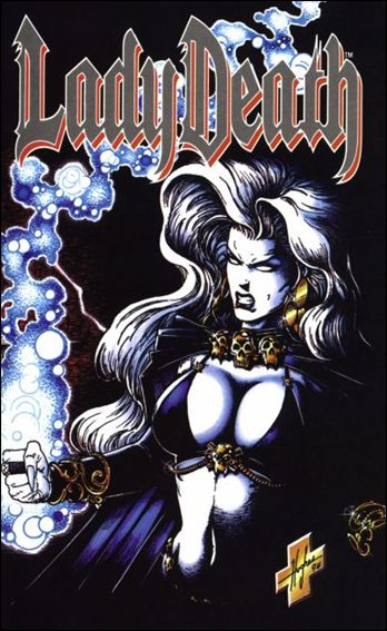 Lady Death II: Between Heaven & Hell 1-B by Chaos