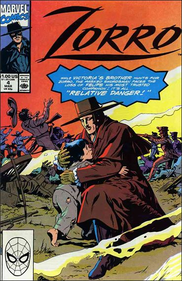 Zorro (1990) 4-A by Marvel