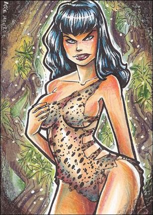 Bettie Page Private Collection (Preview) Sketch 1-A