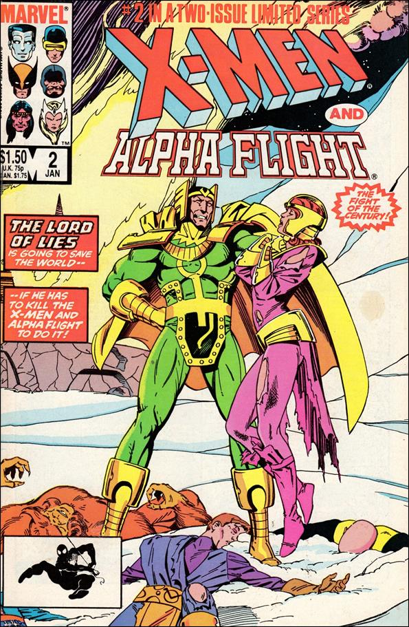X-Men/Alpha Flight (1985) 2-A by Marvel