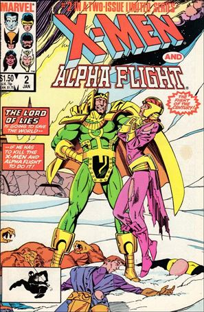 X-Men/Alpha Flight (1985) 2-A