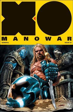 X-O Manowar (2017) 5-A