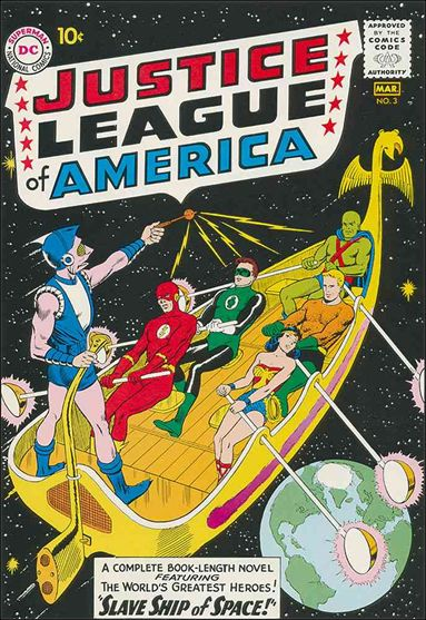 Justice League of America (1960) 3-A by DC
