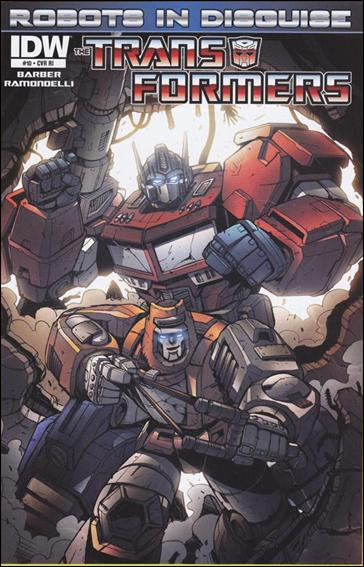 Transformers: Robots in Disguise 10-C by IDW