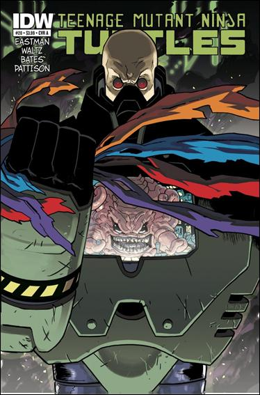 Teenage Mutant Ninja Turtles (2011) 20-A by IDW