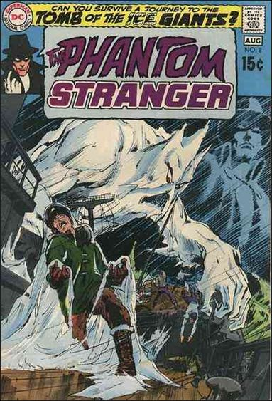Phantom Stranger (1969) 8-A by DC