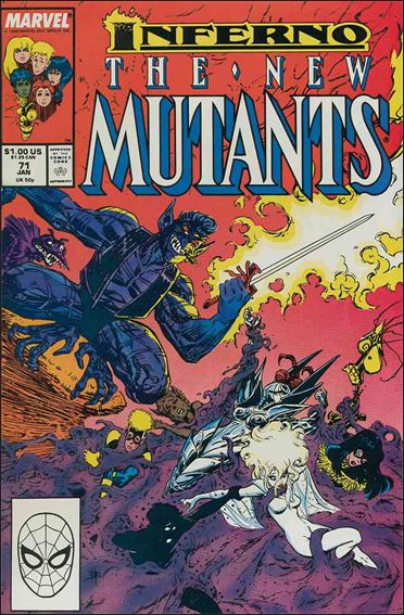 New Mutants (1983) 71-A by Marvel