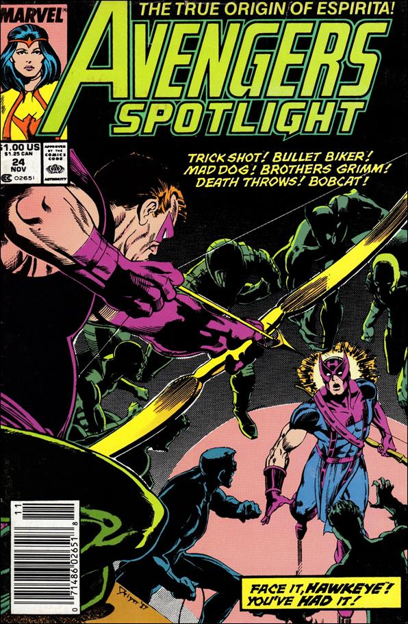 Avengers Spotlight 24-A by Marvel