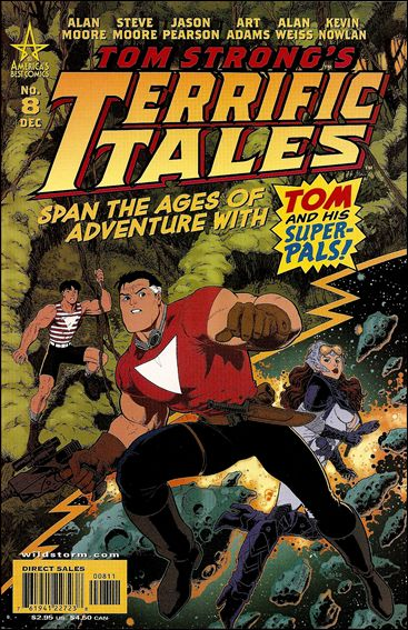 Tom Strong's Terrific Tales 8-A by America's Best Comics