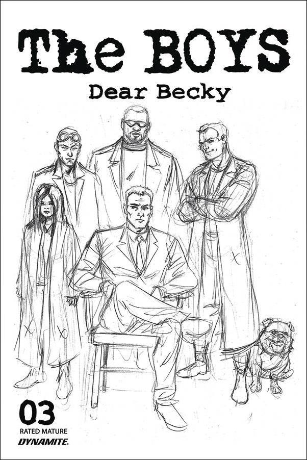Boys: Dear Becky 3-B by Dynamite Entertainment