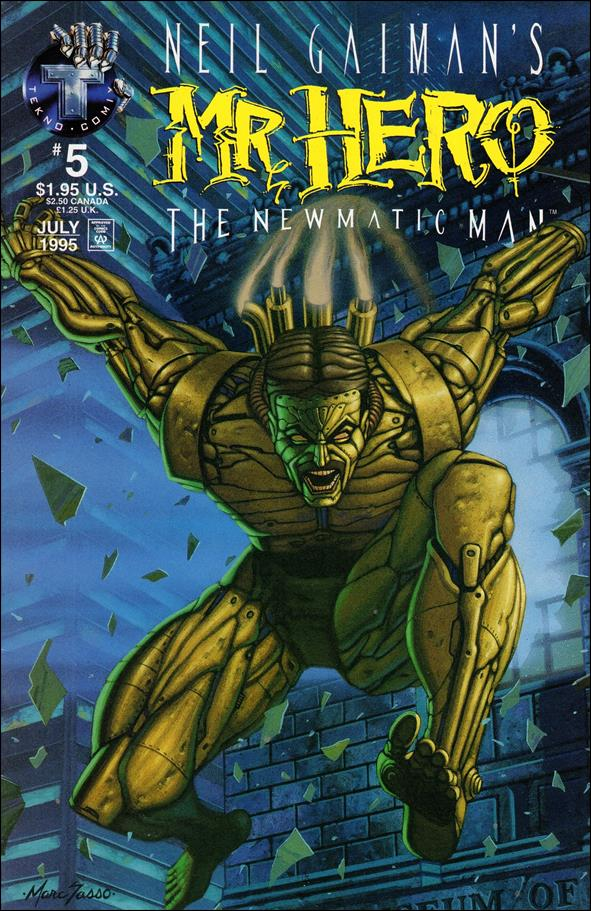 Neil Gaiman's Mr. Hero: The Newmatic Man (1995) 5-A by Tekno•Comix