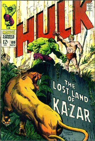 Incredible Hulk (1968) 109-A by Marvel