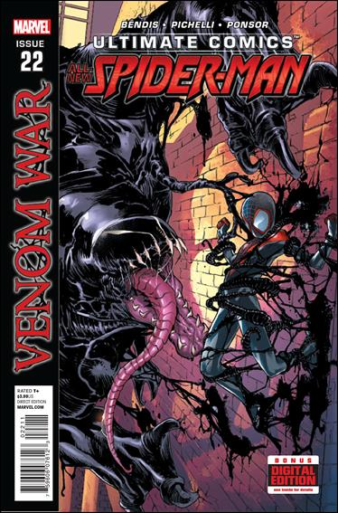 Ultimate Comics Spider-Man 22-A by Marvel