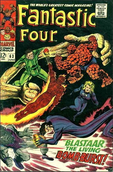 Fantastic Four (1961) 63-A by Marvel