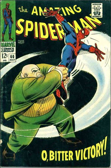 Amazing Spider-Man (1963) 60-A by Marvel