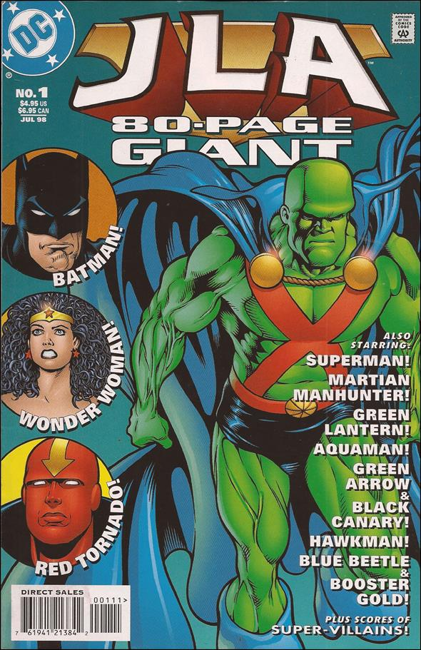 JLA 80-Page Giant 1-A by DC