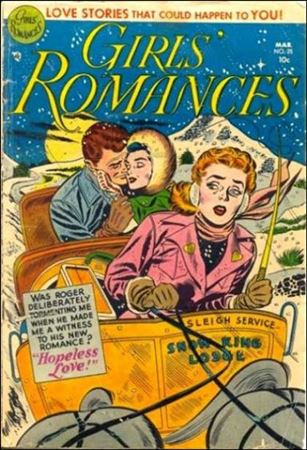 Girls' Romances 25-A
