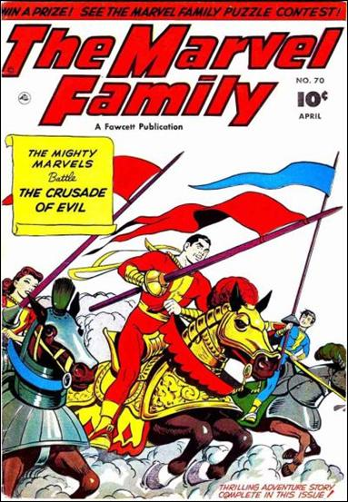 Marvel Family 70-A by Fawcett