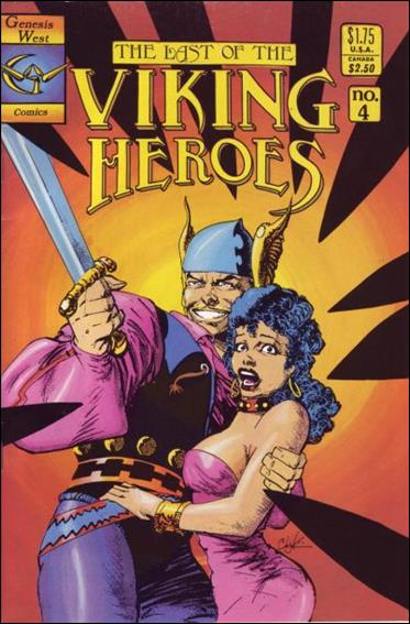Last Of The Viking Heroes 4-A by Genesis West Comics