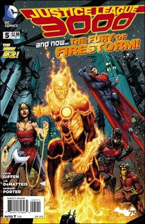 Justice League 3000 5-A