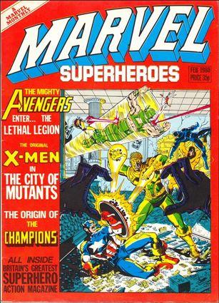 Marvel Superheroes (UK) 358-A