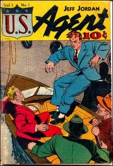 Jeff Jordan U.S. Agent 1-A by D.S. Publishing
