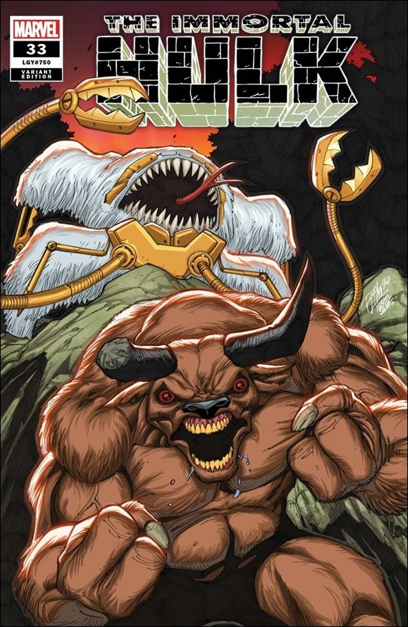 Immortal Hulk 33-E by Marvel