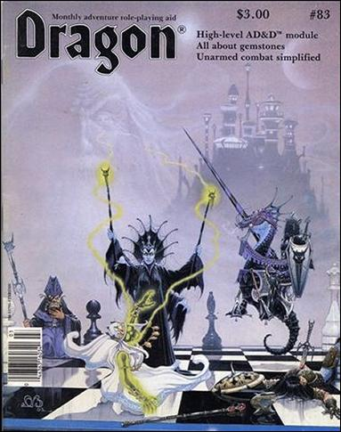 Dragon Magazine 83-A by Wizards of the Coast