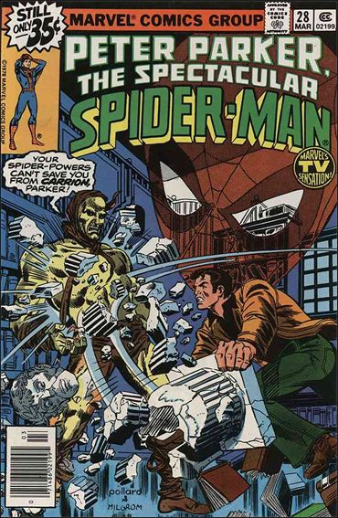 Spectacular Spider-Man (1976) 28-A by Marvel