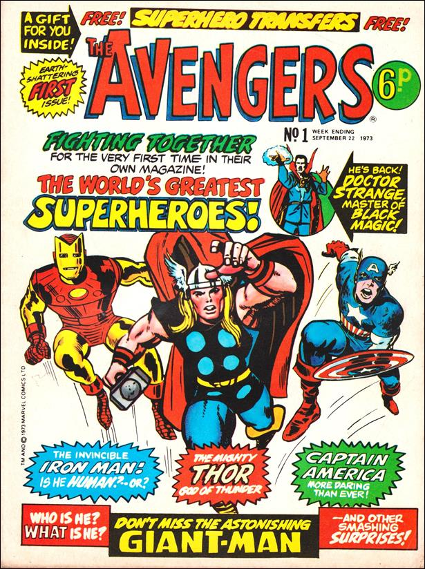 Avengers (UK) 1-A by Marvel UK