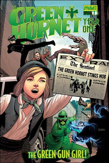 Green Hornet: Year One Special 1-A by Dynamite Entertainment