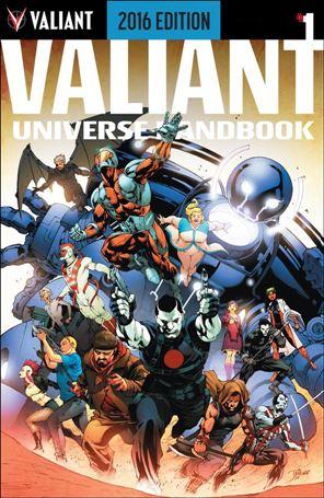 Valiant Universe Handbook 2016 Edition 1-A