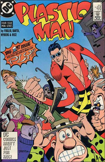 Plastic Man (1988) 1-A by DC