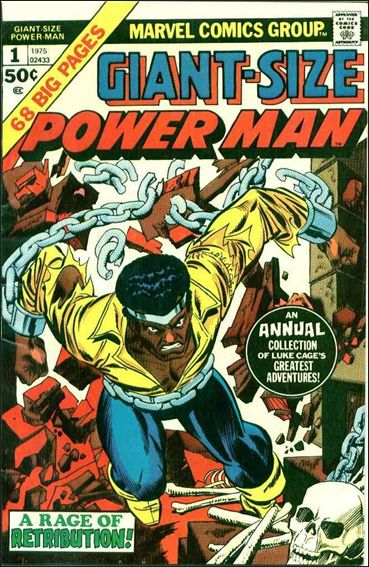 Giant-Size Power Man 1-A by Marvel