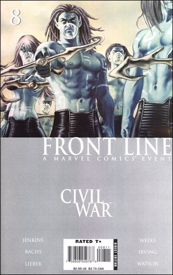 Civil War: Front Line 8-A by Marvel
