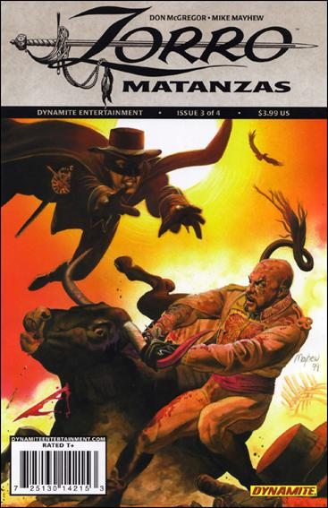Zorro: Matanzas 3-A by Dynamite Entertainment
