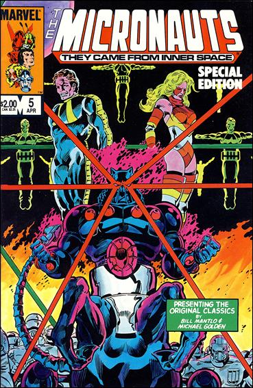 Micronauts: Special Edition 5-A by Marvel