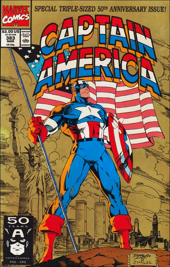 Captain America (1968) 383-A by Marvel