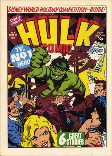 Hulk Comic (UK) 8-A by Marvel UK