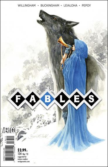 Fables 134-A by Vertigo